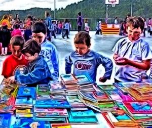 Llibres «reciclats»