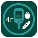 Diabètic (4 racions HC: 2,5 farinacis+1,5 fruita)